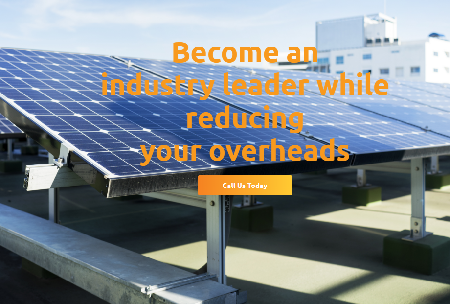 Website Design Launch of Solar Electricf