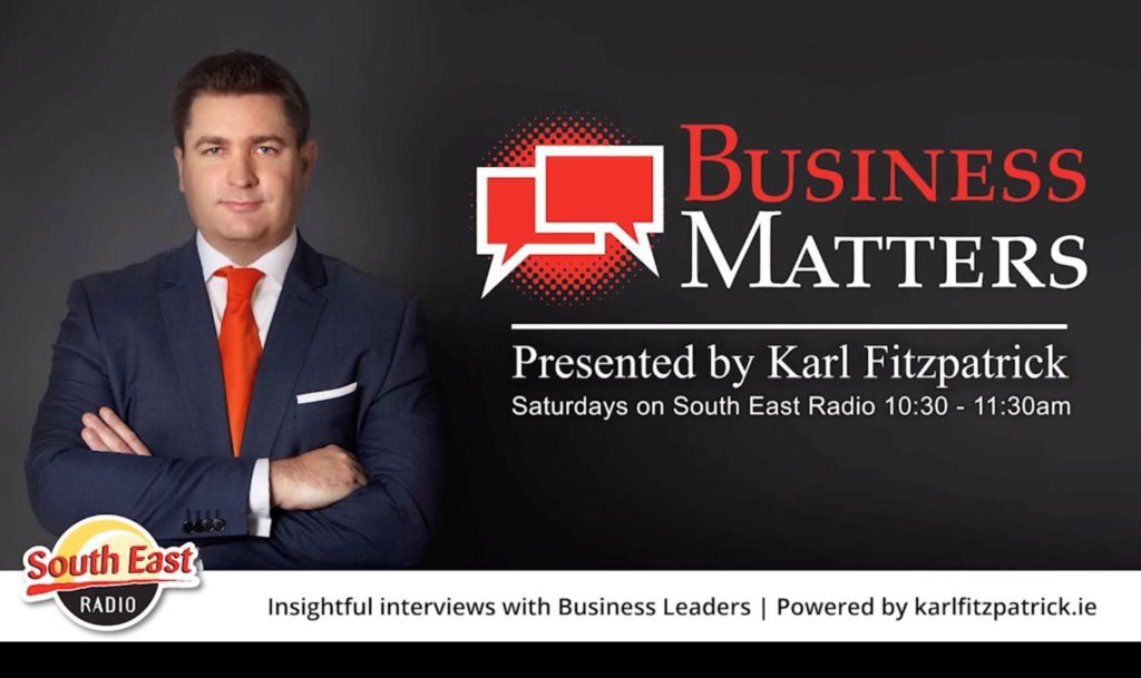 BusinessMatters schedule poster for Digital Marketing Interview with Lorcan Kinsella